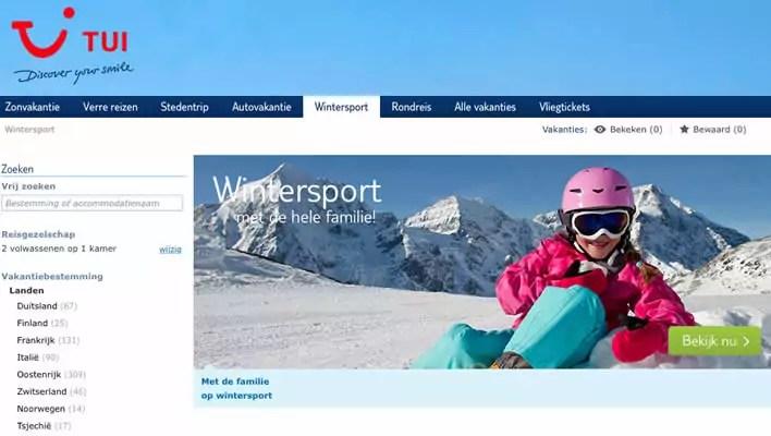 TUi Wintersport met skipas