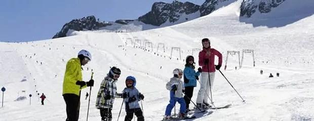 Wintersport voor beginners in Tirol