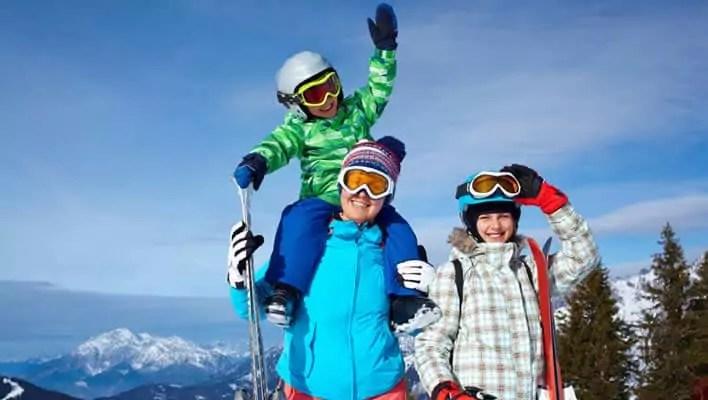 Wintersport met kinderen Gerlos