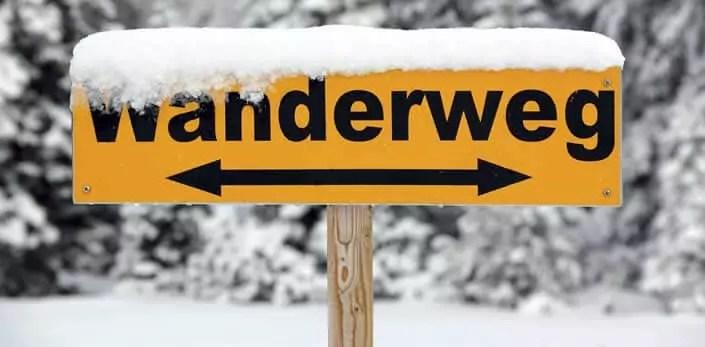Winterwandelen en langlaufen in Oostenrijk