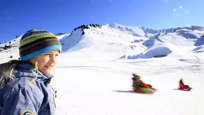 Wintersport met kinderen in Samoëns