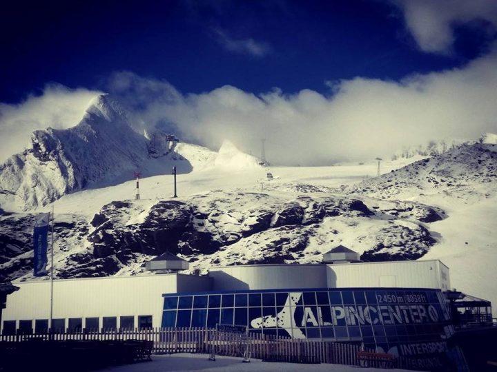 Kitztsteinhorn op 27 juli 2017 sneeuw in de zomer, heerlijk plaatjes om bij weg te dromen