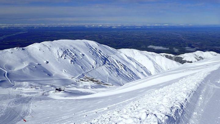 droombeelden vanuit Mt. Hutt
