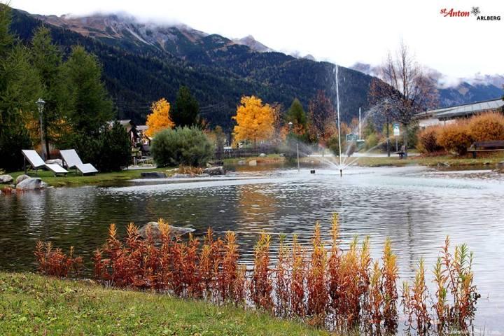 Herfstbeelden vanuit St Anton Am Arlberg