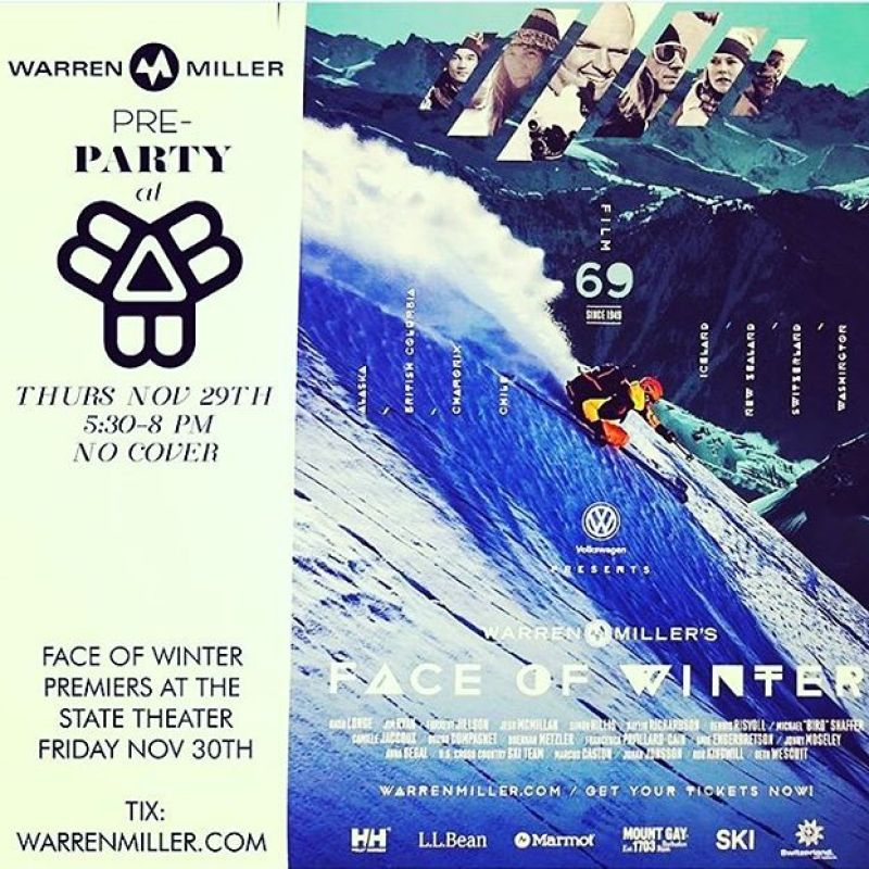 Join us @bissellbrothers in Portland Maine, Thursday November 29th 530-8pm for a fun evening with great beer and @warrenmillerent movies from 1975 and 1994! @sethwescott and @robkingwill will be there to hangout and talk about there favorite Warren Miller trips. Stay in town on the 30th to see the new #faceofwinter film featuring Seth, Kinger, and a slew of other Warren Miller athletes tear up the mountains all over the world. Go to @warrenmillerent bio to buy your tickets today!#snowboarding #snowsurf #originalsnowsurfcompany