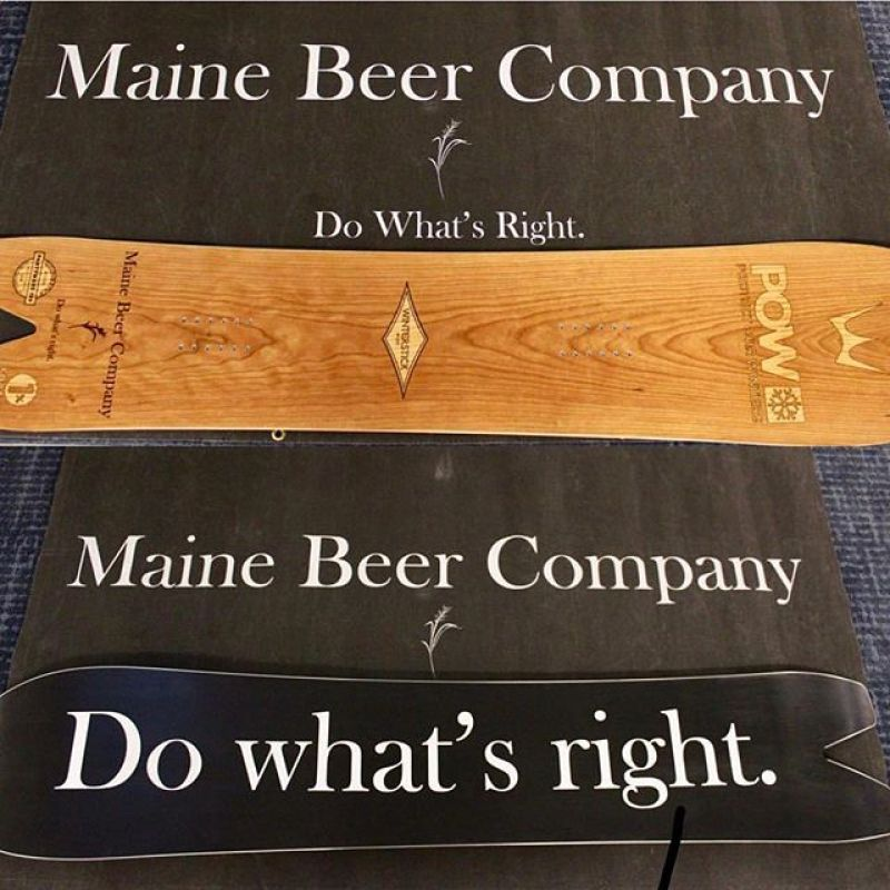 Win this one if a kind Partywave 159!  We have teamed up with @mainebeerco to raise money for @protectourwinters and all you have to do to enter the contest is donate to the RallyUp page. Together we can help fight climate change! Link to the fundraiser in our bio, or just click here: https://go.rallyup.com/mainebeercompany-protectourwinters #winterstick #snowboarding #artoftheturn #dowhatsright