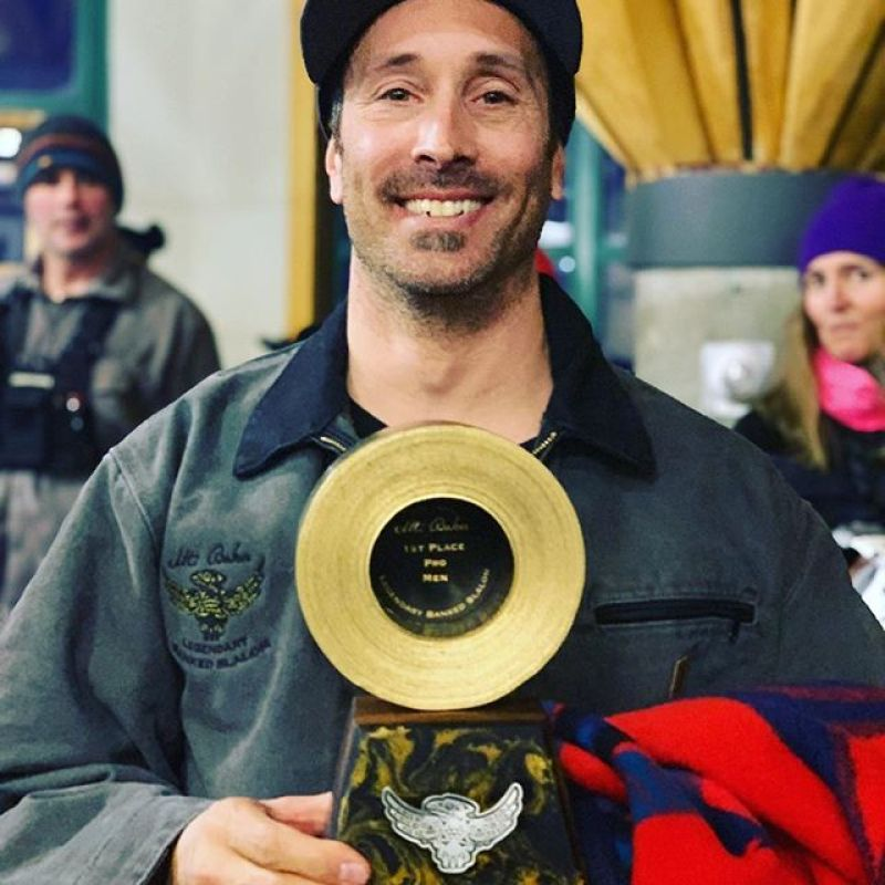 Huge congrats to @sethwescott for taking home gold duct tape in Men's Pro at the Legendary Mt Baker Banked  Slalom!  @jasonkannon took home the win on a Winterstick in the Pro Legends category, with Tom Burt in 3rd. Winterstick is proud to make some of the fastest banked slalom boards in the world! #lbs33 #winterstick #snowboarding