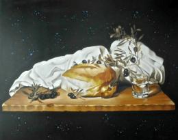 Angelos, Our basic food, Gemälde