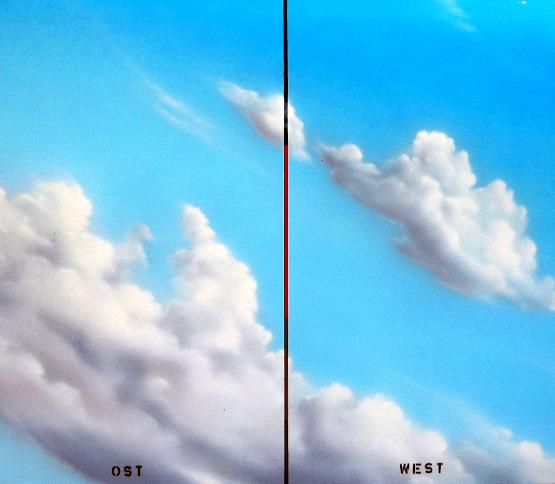 Joe Brockerhoff - Ost West - painting