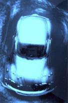 Mebusch - Moving, Blue Volkswagen