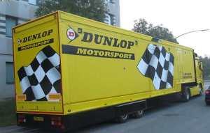 Dunlop Tyres racing team