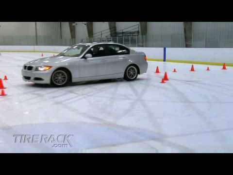 Tire Rack Tire Test – Winter/Snow vs. All-Season vs. Summer Tires on Ice