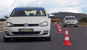 Goodyear EfficientGrip Performance: Track test
