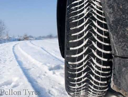 Continental Winter Tyres-Braking on Snow a great video