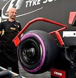 Pirelli F1 PZero Purple