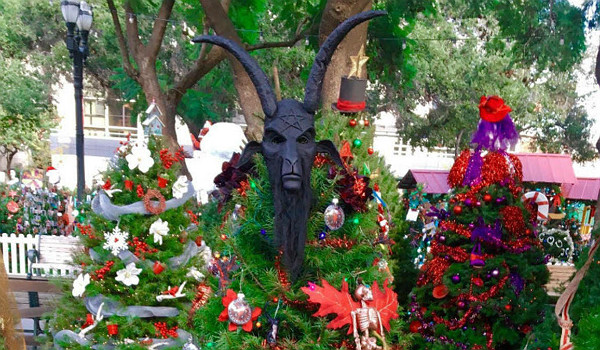 Satanic Temple Christmas Tree