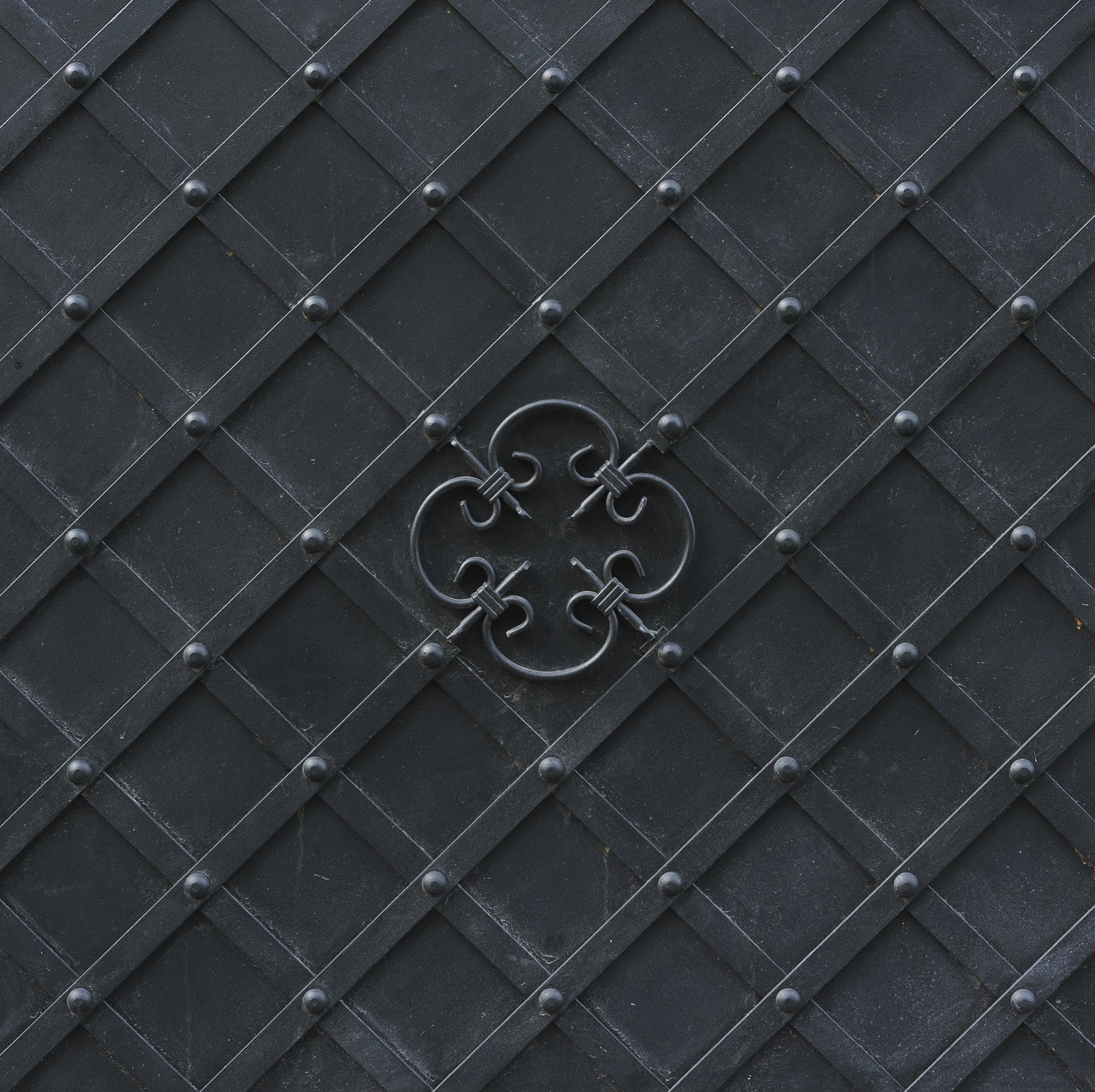 medieval metal door background crop orig background