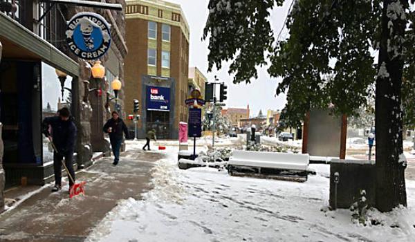 Montana snow Oct 2019