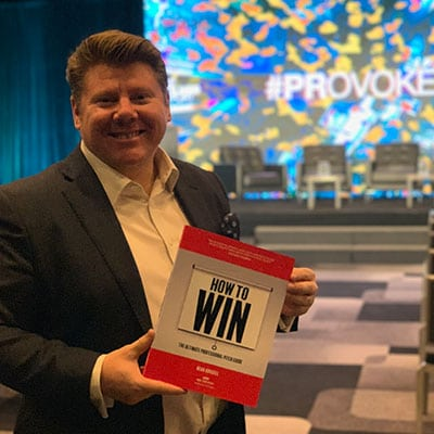 Dean Russell with How To Win at The Holmes Report global PR conference PRovoke