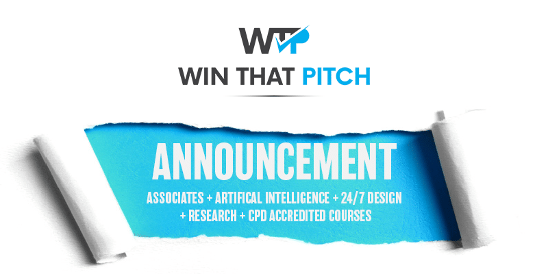 Press Release Win That Pitch Announces expansion of services