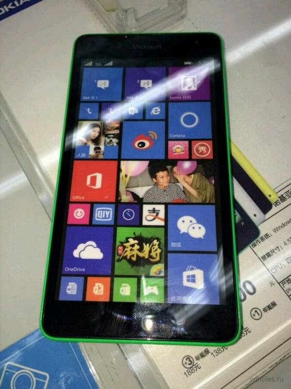 Первые реальные фотографии Microsoft Lumia 535