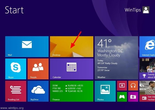 How to boot (sign-in) Windows 8.1 directly to desktop ...
