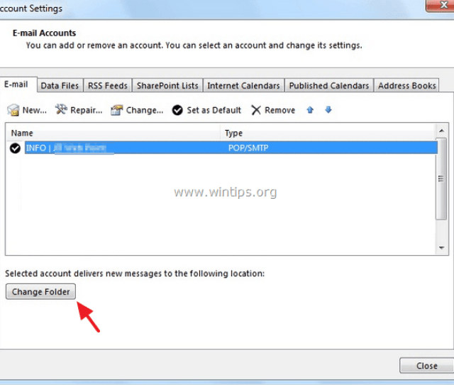 Click New Outlook Data File