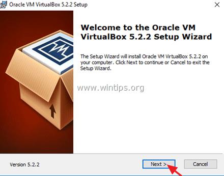 virtualbox vm fails to start