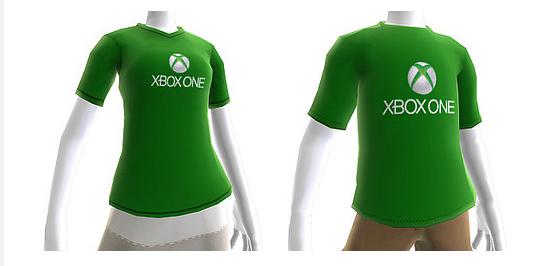 XBox ONE Shirt Avatar
