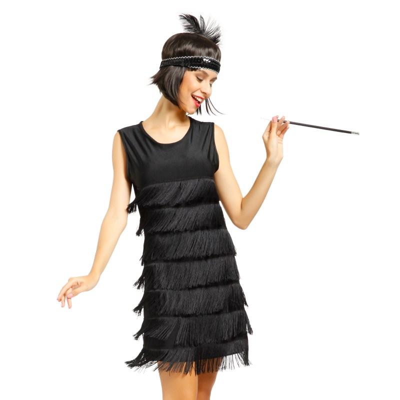 1920s 1930s Ladies Flapper Costume Flapper Dress Fancy ...