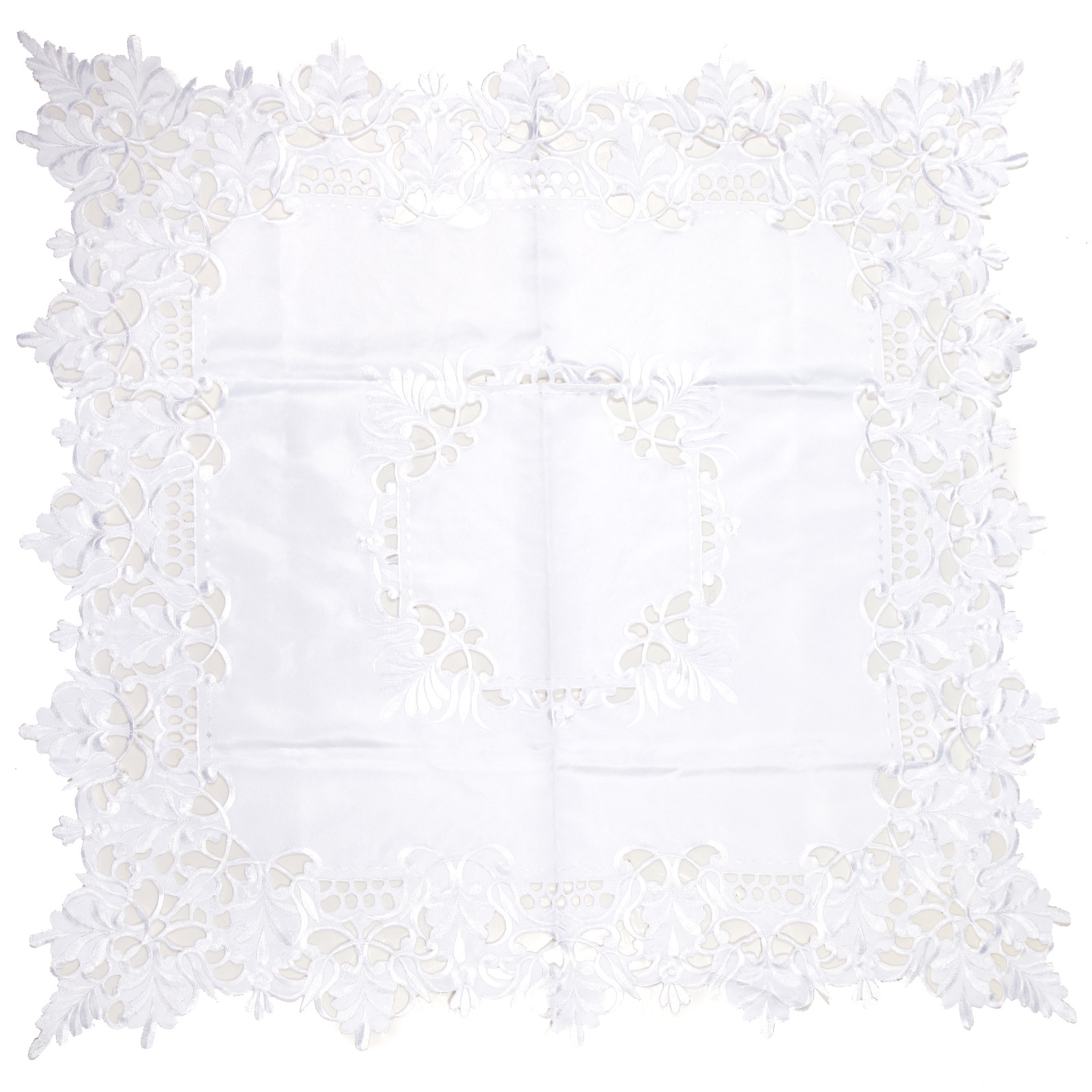 Embroidered Hollow Out Lace Table Runners Cloth