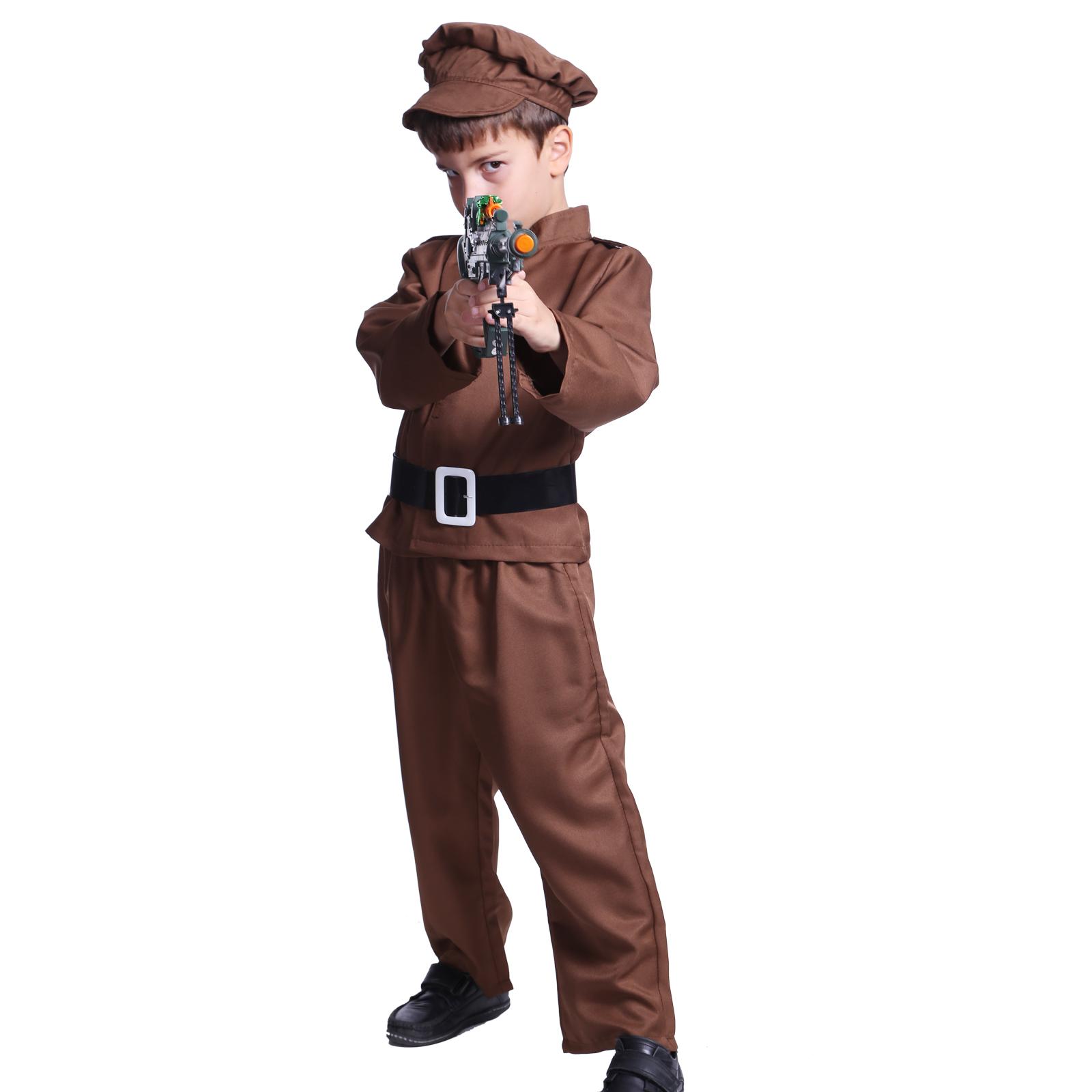 S Kids Wartime Hero World War Ii Ww2 Army Boys Fancy