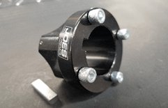 JOES Racing Products 25411 Quarter Midget Brake Rotor Mounting Hub