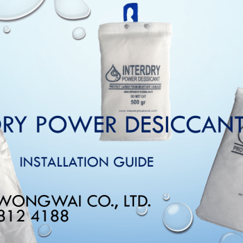 Installation instructions InterDry Power Desiccant