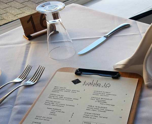 Large Engraved Numbers in Wood Table Numbers for Restaurants and Cafes