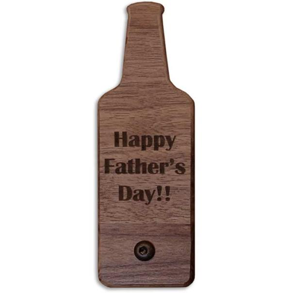 Solid Hardwood Engraved Gifts for Dads