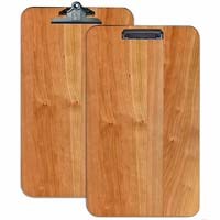Extra large Cherry Wooden Custom Engraved Menu Clipboard