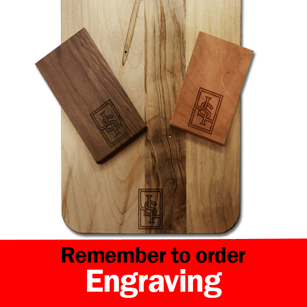 Wooden Custom Engraved Check Presenter Bill Holder for Restaurants