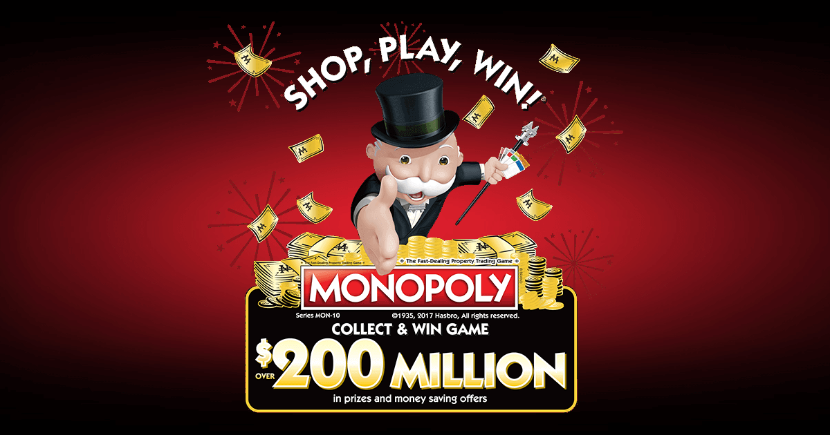 Monopoly Game At Safeway 2017 PlayMonopolyus Winzily