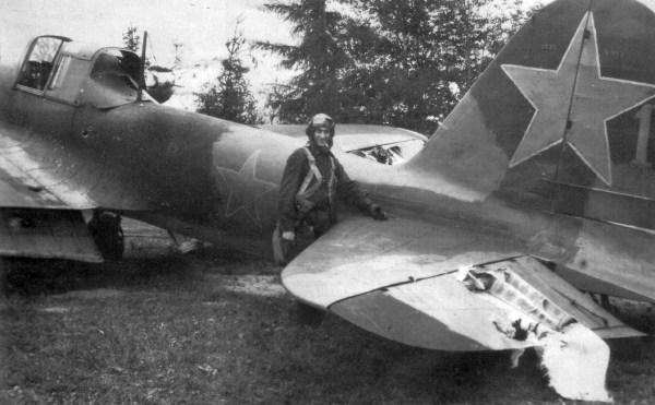 фото ВОВ самолёт Одноместный Ил-2 Штурмовик, получивший ...
