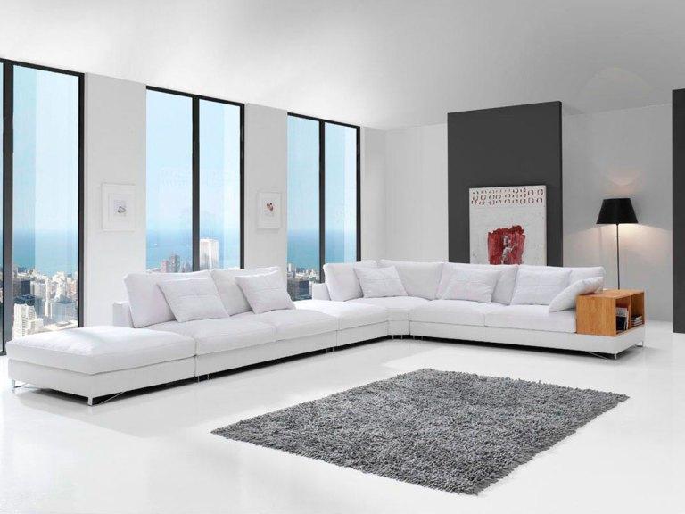 Sofá de diseño modelo YULIAN pata alta