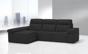 Sofás modernos, simulación tapicería, 11