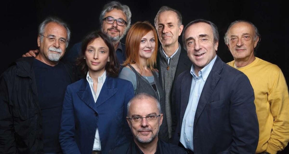 La scuola, con Silvio Orlando e Marina Massironi