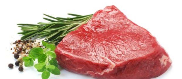La carne rossa