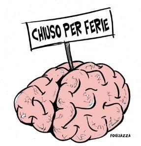 cervello vacanza