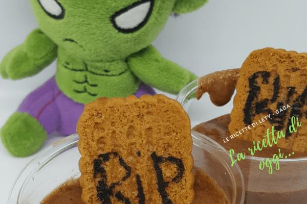Mousse di Halloween, ricetta dolce amara