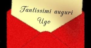 Tantissimi auguri, Ugo!