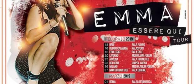 """Emma il 20 Febbraio al """"Modigliani Forum"""" di Livorno"""
