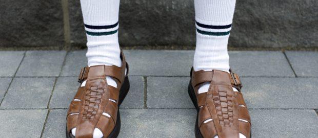 Sandali con calzini