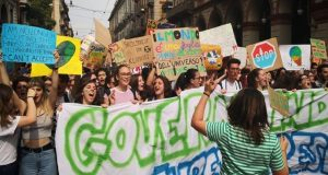 "Fridays for Future. ""In pochi minuti"", con Simone Gasparoni"